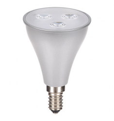 Bec LED General Electric reflector R50, 3W, E14, 240 lm, 15.000 ore, lumină caldă