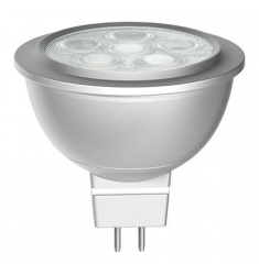 Bec LED General Electric spot MR16, 6W, 12V, GU5.3, 25.000 ore, lumina rece, ne-dimabil