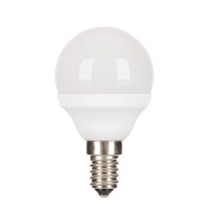 Bec LED General Electric Energy Smart™ sferic, 4.5W, E14, 270 lm, 20.000 ore, lumină caldă, dimabil