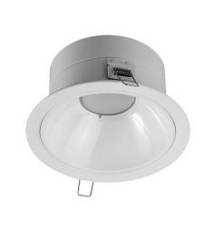 Corp de iluminat interior GE spot incastrat LED, ø114mm, 7W, 40.000 ore, lumina calda