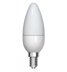 Bec LED General Electric lumânare, 3.5W, E14, 250 lm, 15.000 ore, lumină caldă
