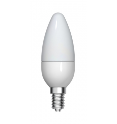 Bec LED General Electric lumânare, 4.5W, E14, 350 lm, 15.000 ore, lumină caldă