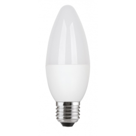 Bec LED General Electric lumânare, 4.5W, E27, 350 lm, 15.000 ore, lumină caldă
