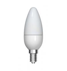Bec LED Tungsram lumânare, 4.5W, E14, 350 lm, 15.000 ore, lumină caldă