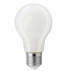 Bec LED General Electric clasic sticlă, 4.5W, E27, 470 lm, 8.000 ore, lumină caldă, mat