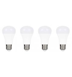 Pack 4 buc Bec LED General Electric clasic, 7W, E27, 470 lm, 25.000 ore, lumină caldă