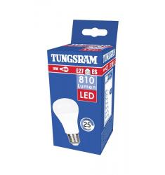 Bec LED Tungsram clasic, 10W, E27, 810 lm, 25.000 ore, lumină caldă