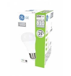 Bec LED General Electric clasic, 10W, E27, 810 lm, 15.000 ore, lumină caldă
