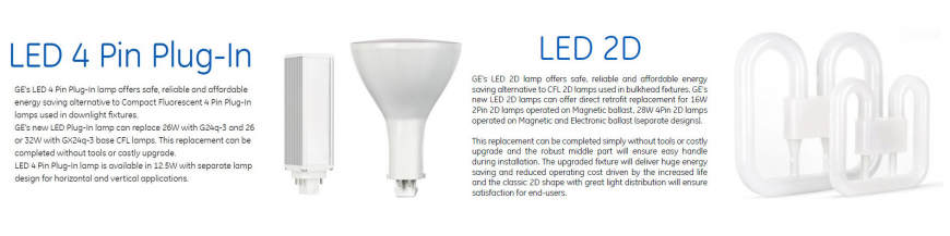 LED Plug-In & 2D Retrofit